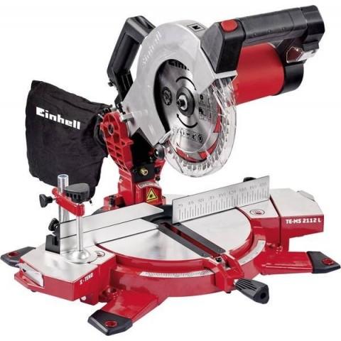 Troncatrice radiale TE-MS 2112 per legno elettrica 1800W
