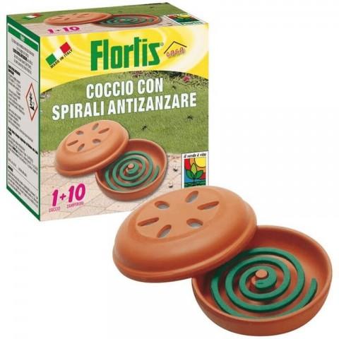 Coccio + 10 spirali antizanzare