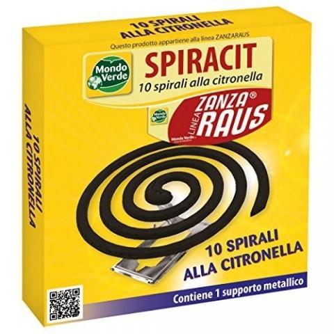10 spirali alla citronella