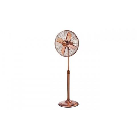 Ventilatore stile retro Zephir colore bronzo