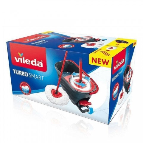Super Mocio VILDEA TURBO SMART con secchio a pedale