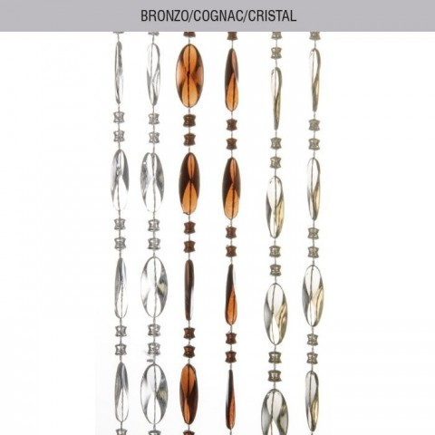 Tenda PERLINA bronzo/cognac/cristal