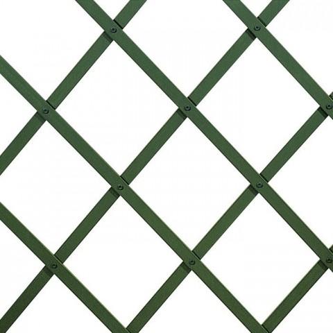 Traliccio estensibile in plastica 160x200cm colore verde