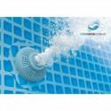 Piscina ovale PRISM FRAME 610x305x122 con filtro scala e teli