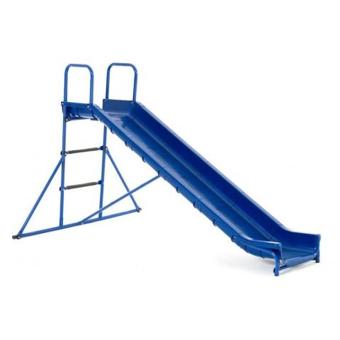 Scivolo dritto KIKO blu con scaletta