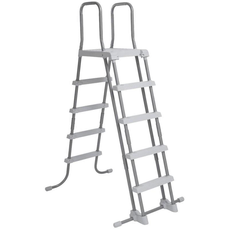 Scaletta doppia 5 gradini H132 cm