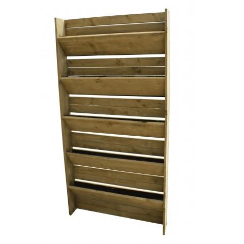 Modifica: Orto verticale 5 ripiani in legno impregnato