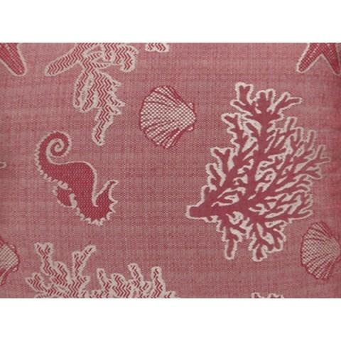 Cuscino lettino colore rosso fantasia
