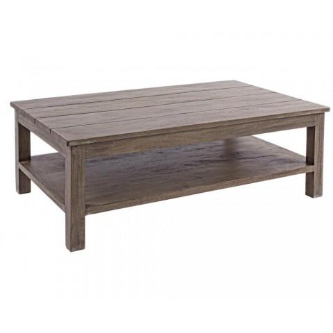 Tavolino BRASILIA in legno di Mango