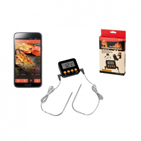 Termometro Bluetooth per grigliare