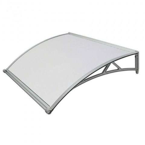 Pensilina in PVC colore grigio satinato