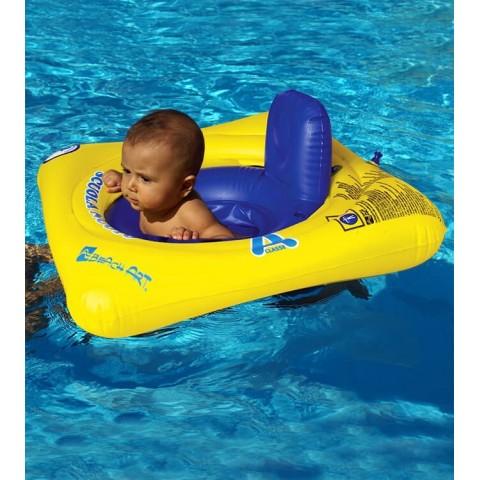 Ciambella mare Baby Seat gialla