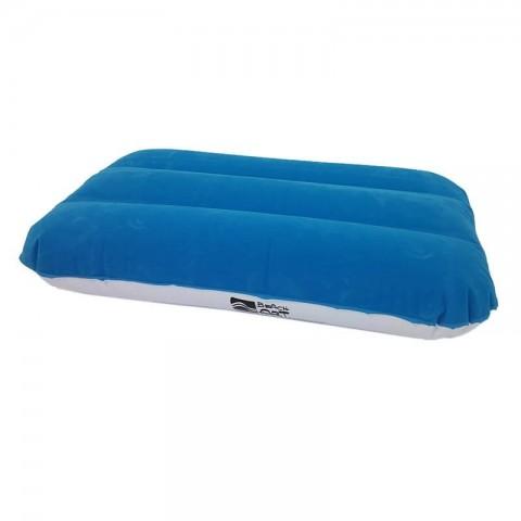 Cuscino gonfiabile floccato blu
