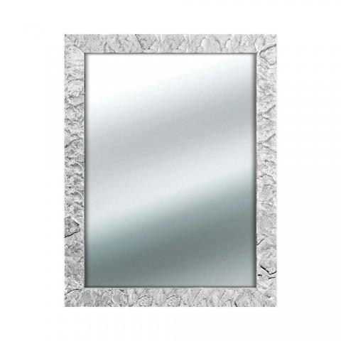 Specchio da parete Mirror Sara Jane argento