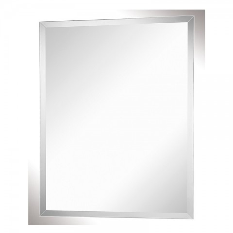 Specchio rettangolare bisellato Feridras 60x80 cm