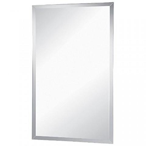 Specchio rettangolare bisellato Feridras 60x100 cm