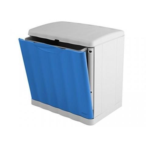 Pattumiera modulare Amica eco-space blu