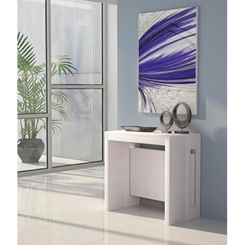 Tavolo consolle allungabile Extend colore bianco