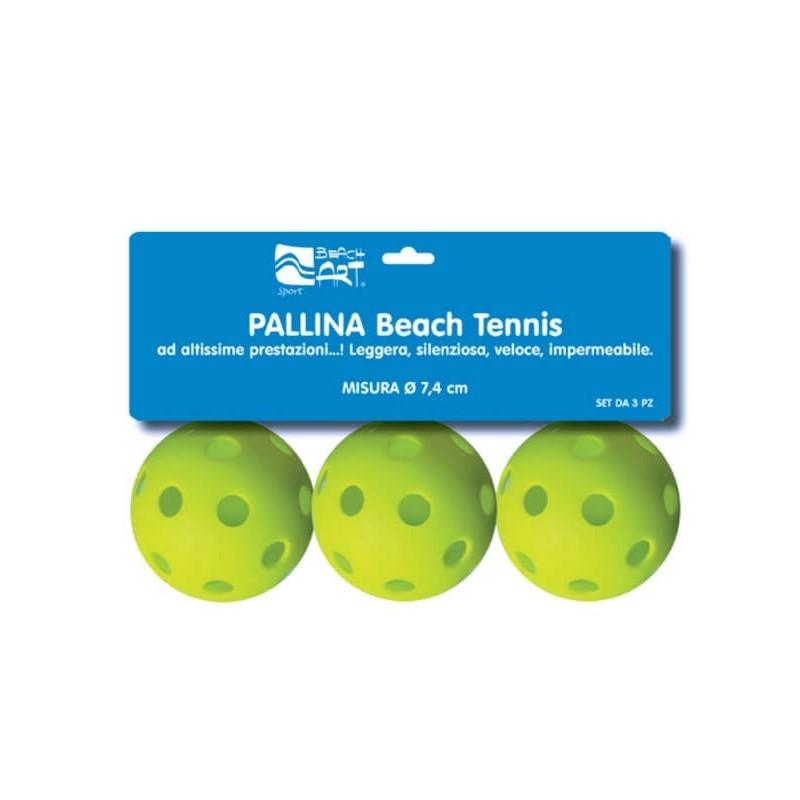 PALLINE RACCHETTONI 3 PZ IN RETE 4,3 CM DIAM
