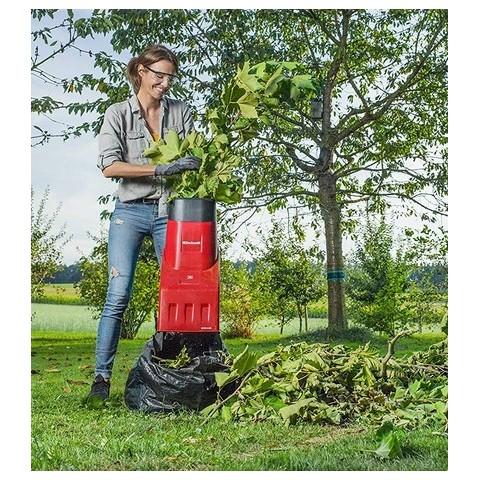 Einhell Biotrituratore elettrico per pulizia giardino