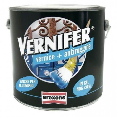 Vernifer grafite antichizzato 2 L vernice + antiruggine