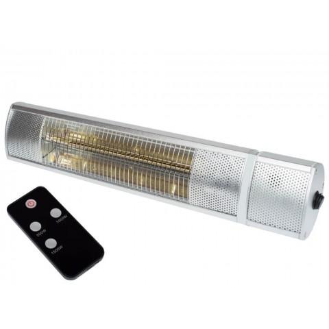 Lampada riscaldante a raggi infrarossi 1550 W con telecomando