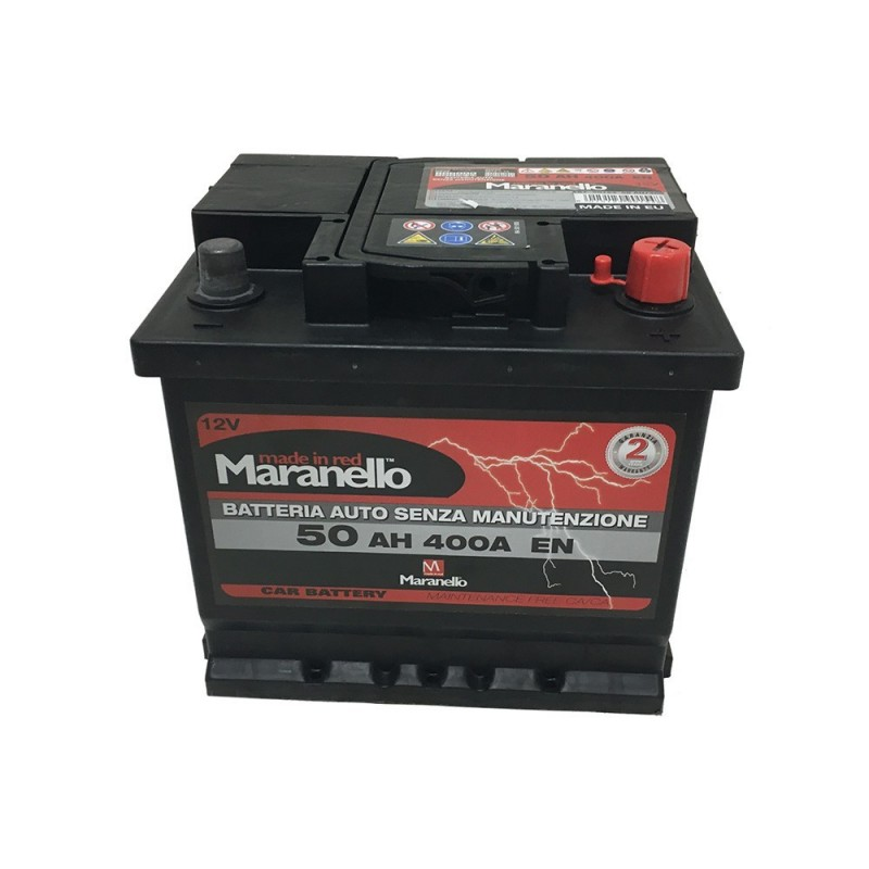 batteria Maranello 50 Ah spunto 400 20x4 L1