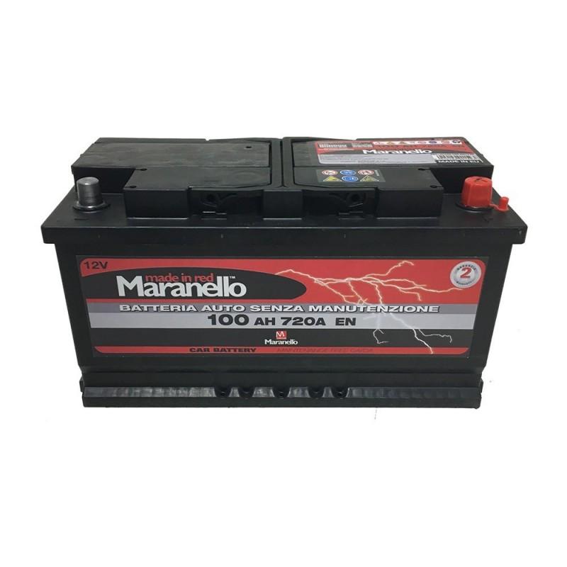 batteria Maranello 100 Ah spunto 720 12x4 L5