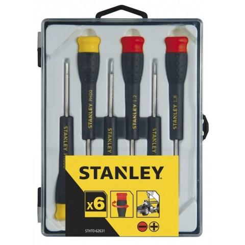Set 6 giraviti di precisione Stanley