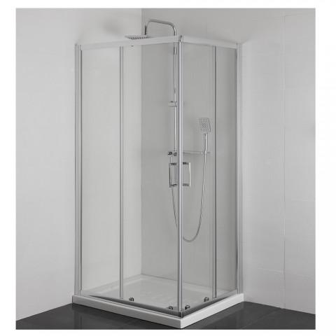 Box doccia 80x80x185 cm