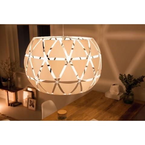 Lampada a sospensione Philips Sandalwood 80 cm bianca