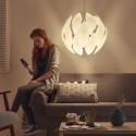 Lampada a sospensione Philips Chiffon 59 cm bianca