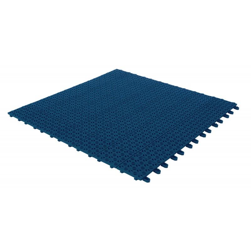 Piastrella Multiplate blu 56x56 cm