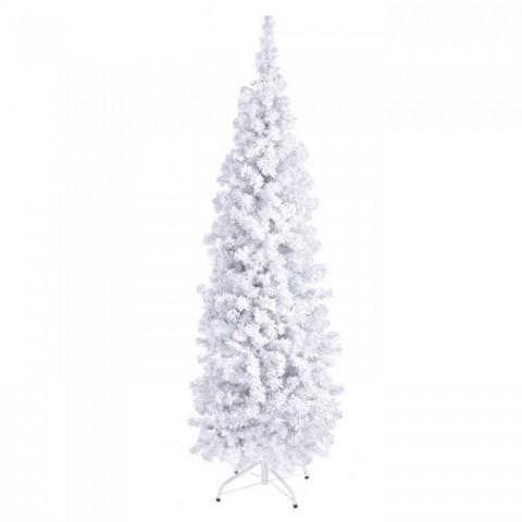 Albero di natale con neve H210 cm 1000 rami
