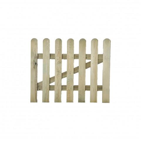 Cancelletto per recinto 100x100cm in legno impregnato