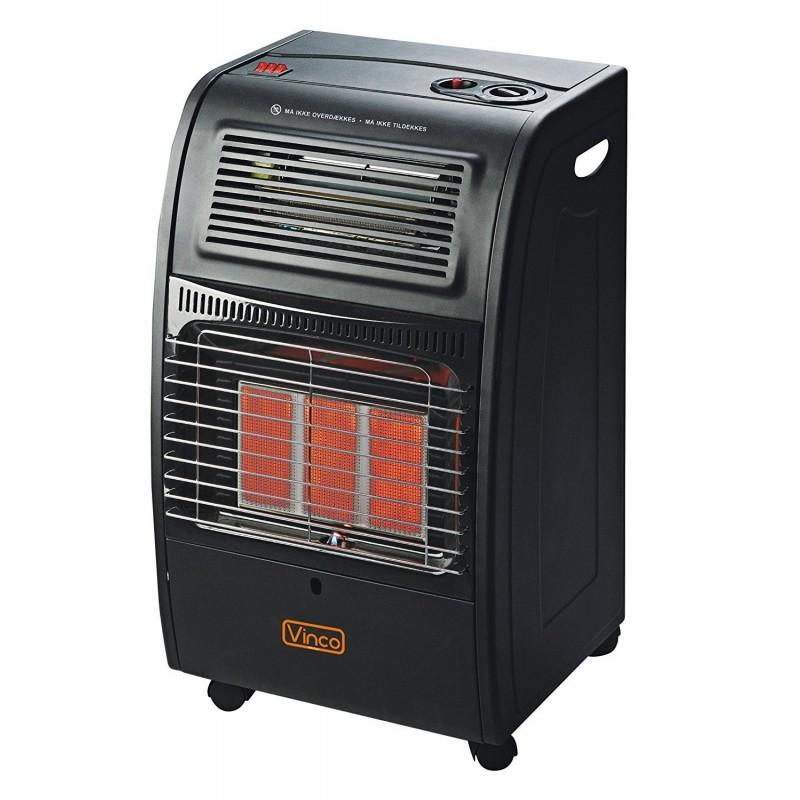 Stufa a gas ventilata 2 in 1 gas + elettrico