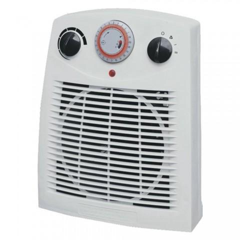 Termoventilatore 2000 W con termostato e timer 24 h