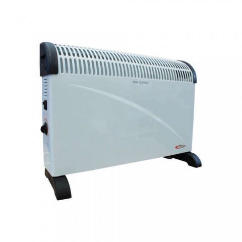 Termoconvettore 2000 W con ventilazione turbo e timer 24 h