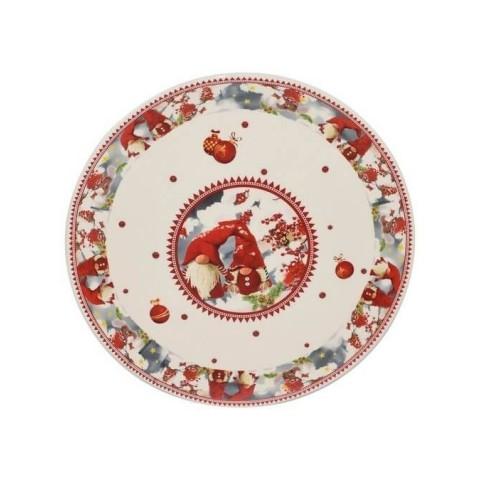 Piatto natalizio diametro 31 cm
