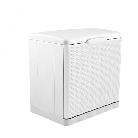 Scarpiera Elegance modulare impilabile colore bianco