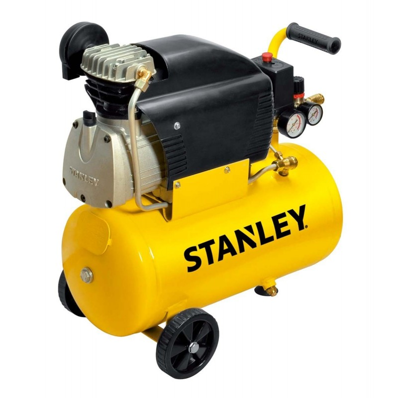 Compressore Stanley 24 L 8 bar potenza 2 hp