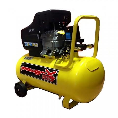 Compressore lubrificato ad olio 50 L con ruote