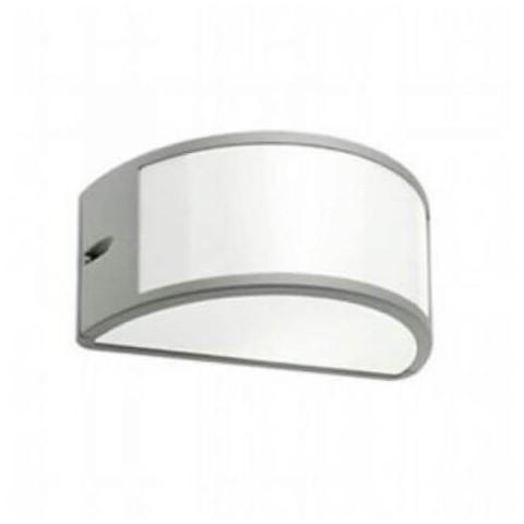 Applique Aperta Serie Umbe in alluminio bianca
