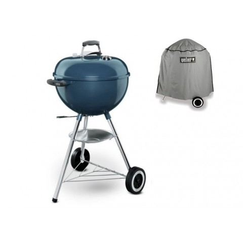 Barbecue weber onetouch original blue