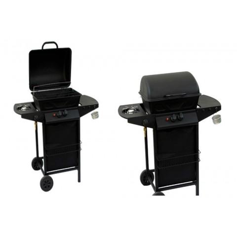 Barbecue gas 2 fuochi