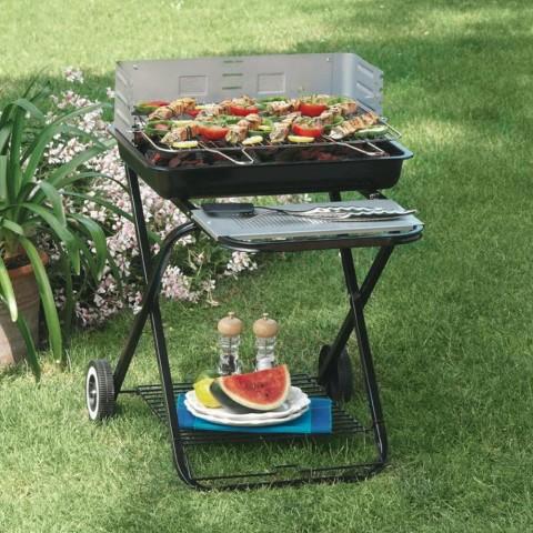 Barbecue a Carbonella Pieghevole Clic Clac in Acciaio