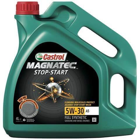 OLIO MOTORE CASTROL MAGNATEC S&S 5W-30 A5 4L