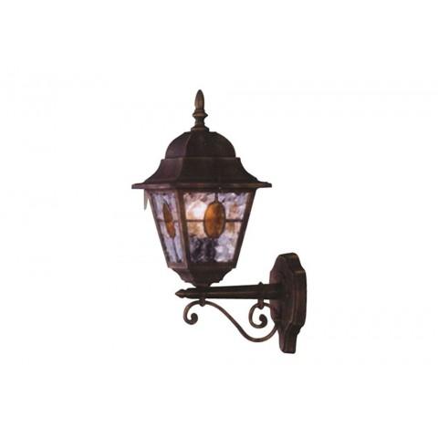 Applique lanterna up munchen vetro smerigliato