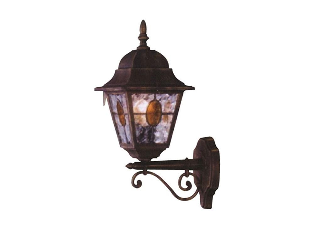 Applique massive lanterna up munchen vetro smerigliato